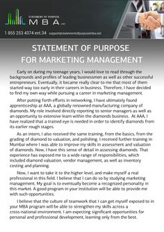 Do you need help to write a Statement of Purpose for Marketing Management? Marketing Management writer of our stuff can help you. To get more information, visit our website link at http://www.statementofpurposemba.net/amazing-mba-statement-of-purpose-for-marketing-management/