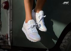 Reebok Classic Leather *Pearlized* (White)
