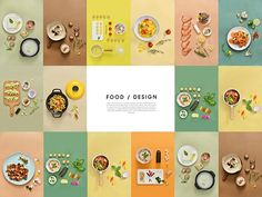 china food on Behance Food Menu Design, Food Poster Design, Cookbook Design, Flyer Design, Dm Poster, Posters, Design Package, Gourmet Recipes, Healthy Recipes