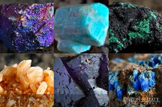 rock and minerals photography