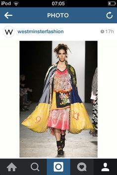 Caroline Day Graduate Collection 2015 at Westminster University @westminsteruniversity instagram