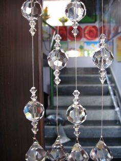"Glass beaded curtain ("",)"
