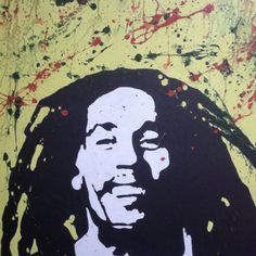 Bob Marley - stencil