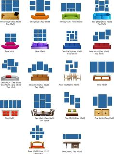 Great Wall Art Layout Ideas for Your home using Split Panel Art Layout Combinati. Great Wall Art Layout Ideas for Your home using Split Panel Art Layout Combinations & Multi-Piece Wall Art Prints to add some unique detail to your walls Gallery Wall Layout, Photo Wall Layout, Art Gallery, Living Room Gallery Wall, Living Room Wall Decor, Kitchen Gallery Wall, Tv Wall Decor, Unique Wall Decor, Office Wall Decor