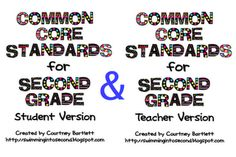 Common Core for 2nd grade
