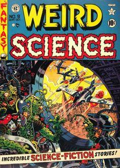 Weird Science 9 (Oct 1951)