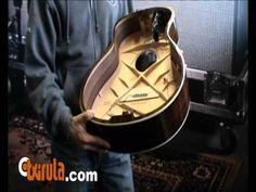 Guitarra Taylor sin tapa trasera. Análisis de su construcción.