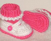 Mary Jane Baby Shoes. Adorable!