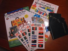 The Passport Project: great  and easy way to get your kids excited about geography, travel and other cultures