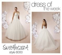 Sweetheart's Dress Of The Week is a fabulous ball gown that will leave your guests' speechless.Style 6000 is a beautifully crafted wedding dress with a strapless neckline that features a beaded inlet and a draped tulle midriff.    Sweetheart Gowns Worldwide  #wedding #weddingdress #love #beautiful