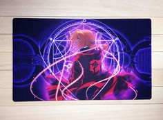 M768 Custom Full Metal Alchemist Playmat FOR YUGIOH MTG CARDFIGHT Game Mouse Pad