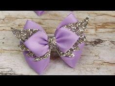 Homemade Hair Bows, Diy Hair Bows, Diy Bow, Princess Hair Bows, Hair Doo, Bow Template, Hair Bow Tutorial, Baby Hair Accessories, Kanzashi Flowers