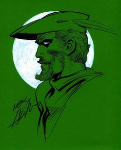 Green Arrow art by Neal Adams Comic Book Pages, Comic Book Artists, Comic Book Characters, Comic Books Art, Comic Art, Green Arrow, Arsenal, Arrow Comic, Justice League Characters