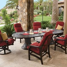 Tropitone Outdoor Furniture On Pinterest Outdoor Rooms Outdoor Patios And Patio