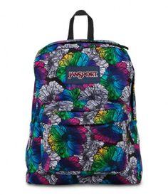 JANSPORT SUPERBREAK BACKPACK SCHOOL BAG - Multi Ombre Floral, $32.99 (http://www.znvora.com/jansport-superbreak-backpack-school-bag-multi-ombre-floral/)