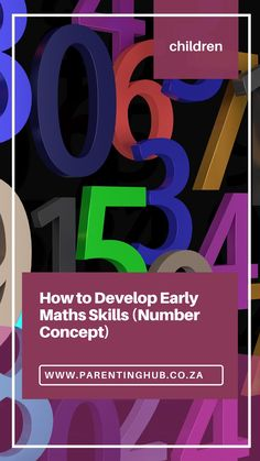 Learning to count from one to ten, and later to a hundred, is an important milestone in early math development.