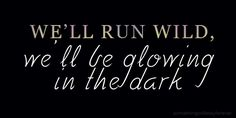 My favorite Coldplay quote! :)