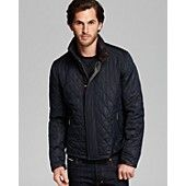 Moorer Quilted Down Moto Jacket