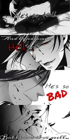 bocchan-phantomichaelis: Sebastian Michaelis in a nutshell.. (That one time I got so bored xD)