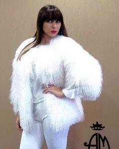 Shop online at http://www.romapellicce.com #whitelamb #whitefur #furs #fursrome #mongolia #pellicce #www.romapellicce.com #altamodafurs #шубы