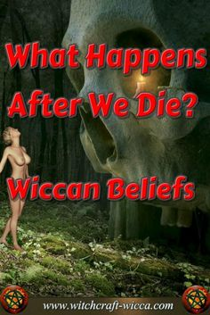 What Happens After We Die & Wiccan Beliefs-Wicca faith is mainly focused on how we live our lives. We are curious about what happens after we die while embracing this life via @wicca_witchcraft