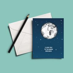 Image of I love you to the moon and back