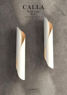 Calla White Wall Light Designer Monzer Hammoud Pont Des Arts Studio