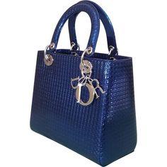 8004f4ca45 Christian Dior Lady leather handbag Dior Handbags