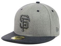 San Francisco Giants New Era MLB Heather Mashup 59FIFTY Cap Hats
