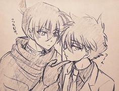 Anime Guys, Manga Anime, Manga Detective Conan, Conan Comics, Kaito Kid, Amuro Tooru, Kudo Shinichi, Magic Kaito, Case Closed