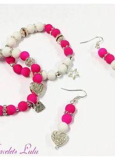 Kupuj mé předměty na #vinted http://www.vinted.cz/doplnky/sety/10593864-set-se-srdicky-naramky-a-nausnice