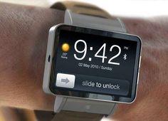 Apple iWatch. But im not an apple fans!