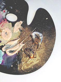 stellar art palette | via paper fashion studio                                                                                                                                                     More