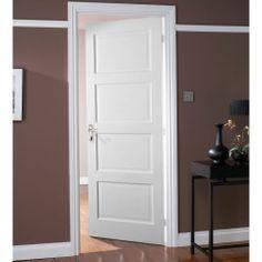 Jeld-Wen Avesta 4 Panel Shaker Internal Door - DoorsWorld
