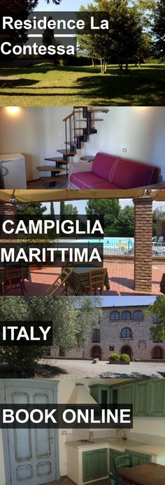 Hotel Residence La Contessa in Campiglia Marittima, Italy. For more information, photos, reviews and best prices please follow the link. #Italy #CampigliaMarittima #ResidenceLaContessa #hotel #travel #vacation