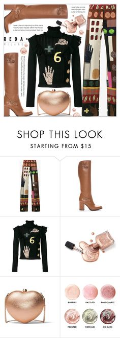 """REDA MILANO BOOTS"" by celine-diaz-1 ❤ liked on Polyvore featuring Valentino and MICHAEL Michael Kors"