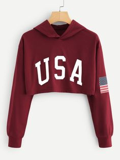 Usa Travel Wallpaper - - Usa New York Pictures - Usa Outfit Winter - Usa Tattoo Ideas - Usa House Plan Cute Lazy Outfits, Crop Top Outfits, Cool Outfits, Girls Fashion Clothes, Teen Fashion Outfits, Outfits For Teens, Cropped Hoodie Outfit, Stylish Hoodies, Teenager Outfits