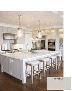 Ben-Moore-Nimbus Gray Cabinet Paint Colors