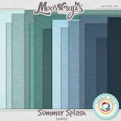 Digital Art :: Paper Packs :: summer splash - solids