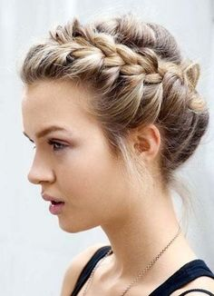 Fancy French braids? Want to know how to french braid your hair? French braids are very easy to do on someone else's hair but can be tricky when an attempt to do on your own because you wont be able to see anything, so it is a bit tricky. French braid