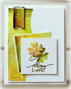 SC446 Love by Biggan - Cards and Paper Crafts at Splitcoaststampers ~ Stamps: Technique Tuesday ~ Paper: Paper Accents, Kaiser Craft ~ Accessories: Paperclip