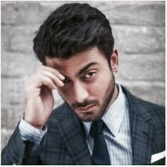 (Fc:Fawad Khan) Hello, on first note, my Armani blazer had been stained. Fawad Khan Beard, Armani Blazer, Polished Man, Mahira Khan, Bollywood Actors, Male Face, Celebs, Celebrities, Best Actor