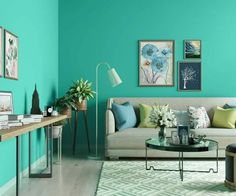 teals-blues-colour-shade-asian-paints-9726 Home Paint Colour, Kitchen Paint Colors, Room Paint Colors, Wall Colors, Asian Paints Colour Shades, Asian Paints Colours, Color Shades, Wallpaper Designs For Walls, Wall Stencil Designs