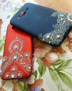Mandala Art, Mandala Design, Diy Mobile Cover, Mobile Covers, Girly Phone Cases, Diy Phone Case, Phone Covers, Henna Phone Case, Friends Phone Case