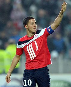 "Eden Hazard will join Chelsea FC - @hazardeden10 ""I'm signing for the champion's league winner."""