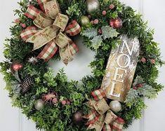 Decorazioni Natalizie Per Portoni.26 Fantastiche Immagini Su Porte D Ingresso Di Natale Christmas