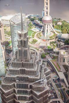 China mal anders: Jinmao Tower