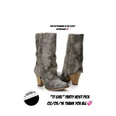 """THANK YOU/For Being Selected/All Shares&Follows HOST PICK(Boots/1st pic)02/05/16/I'm extending HUGE THANK YOU/2 All my Co-Hosts that worked @ making hard decisions in the selections 2 feature in """"It Girl"""" Party! C ALL Host's selections/go2 shop @ bottom of screen/takes U 2 Parties/there U C recent parties/Select """"It Girl"""" Party Selections(530,673 listings)/Go in2 party/& select Host Picks/Goes 2 Showroom/Enter &C selected listings featured by our…"""