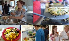 """When you hear the words """"middle school"""" and """"lunch"""" in the same sentence, you might think of a teenager with a can of Coke in one hand, and a bag of chips in another. What if I asked you, instead, to picture a group of 11-15 year old students chopping onions with real knives, sautéing vegetables over a burner, or cutting brussel sprouts off the stalk?"""