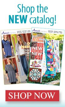 Shop the NEW Annies catalog now! The gray hooded duster is mine, I'm so honored!